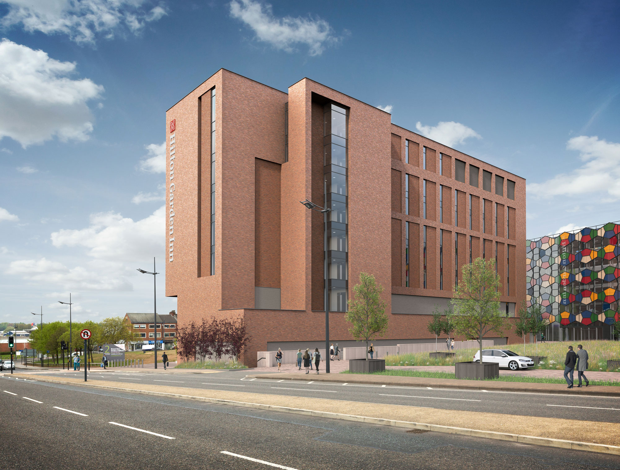 Planning Submitted For Hilton Garden Inn At Genr8 S Smithfield Stoke On Trent Genr8