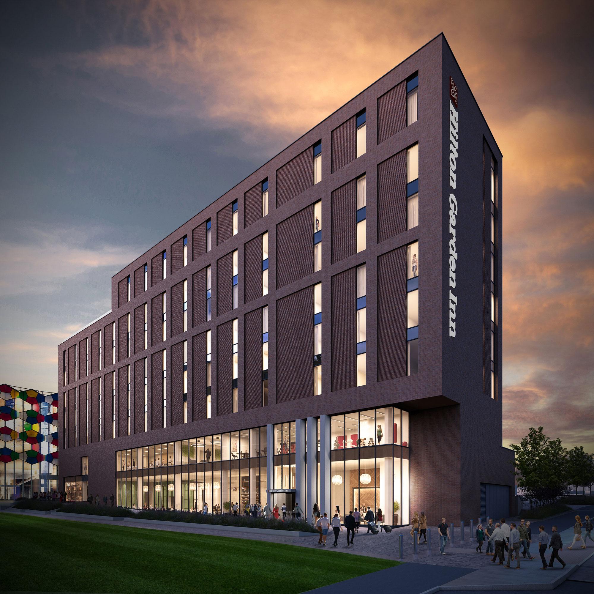 Hilton Garden Inn Signs At Genr8 S Smithfield Stoke On
